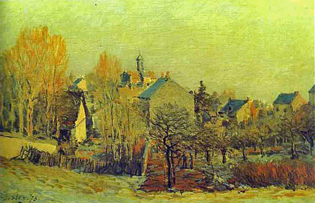 alfred sisley famouse paintings