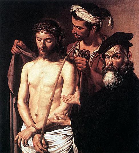 Caravaggiothe calling of st. matthew contarelli chapel rome 1597-1600
