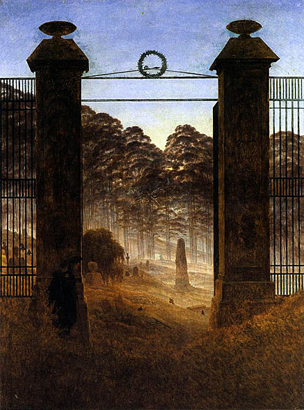 Caspar david freidrich witnessed death of