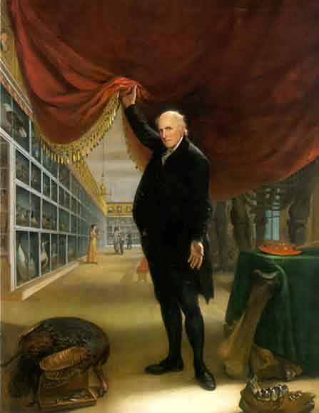 a biography of charles willson peale Les portraits de charles willson peale dans son musée de philadelphie karie  diethorn  the history of peale's philadelphia museum the purpose of the.