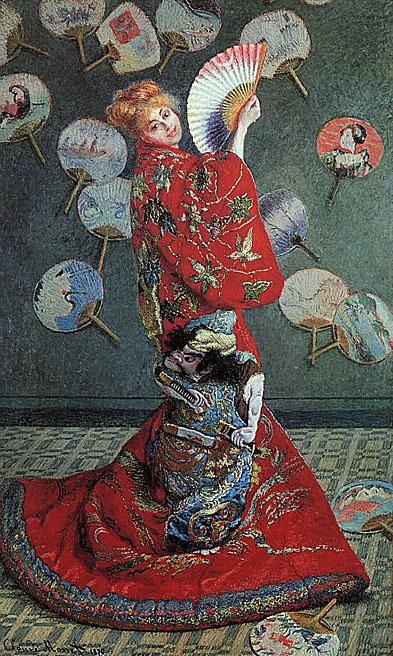 La japonaise camille monet in japanese costume