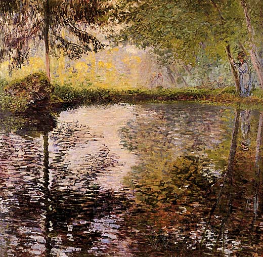 an analysis of the works of the french impressionist painter claude monet French impressionist painter claude monet is regarded as the archetypal impressionist in that his  almost all of monet's lithographic works mirror.