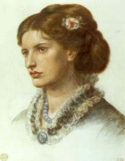met art lucy. Lucy Madox Brown: 1874