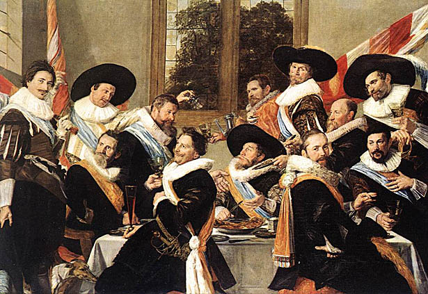 Banquet of the Officers of the Saint Hadrian Civic Guard Company: ca 1627