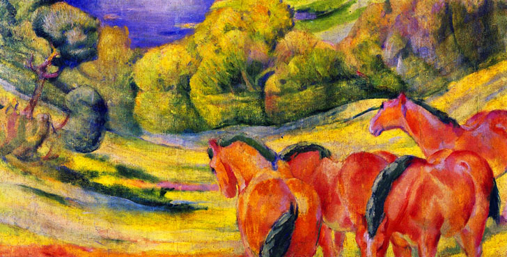 Franz Marc - Page 3 Large_Landscape_I_1909