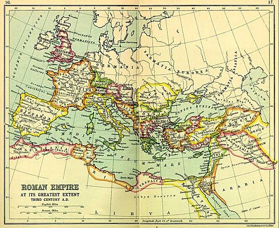 Gaius Iulius Caesar Octavianus - Map of rome under caesar
