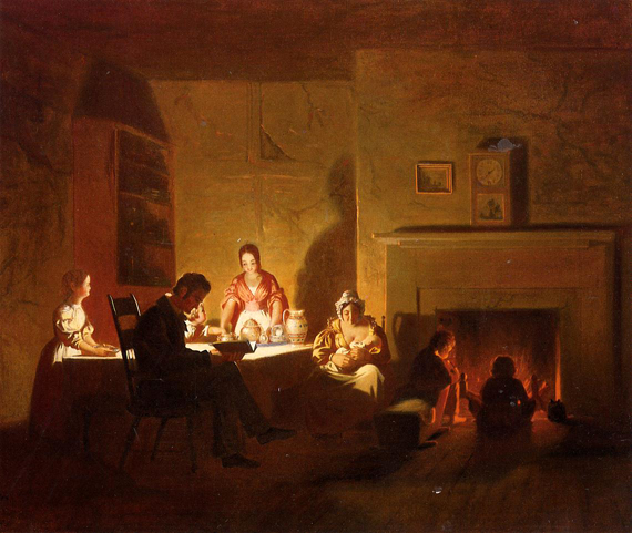 Family Life on the Frontier: 1845