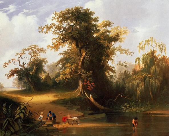 Landscape Rural Scene: 1845