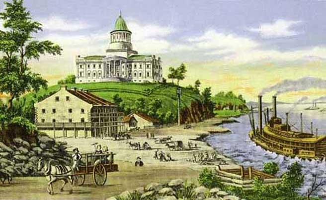 Missouri State Capitol: 1848