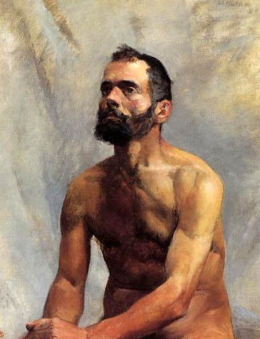 Academic Study Nude: 1883