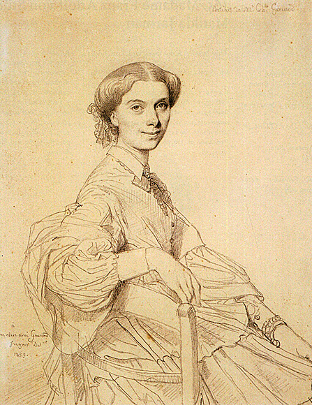 Ingres madame victor baltard born adeline lequeux and her daughter paule next image - ingres madame louis francois