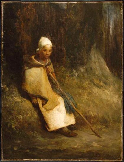 http://hoocher.com/Jean_Francois_Millet/Shepherdess_Sitting_at_the_Edge_of_the_Forest_ca_1848_49.jpg