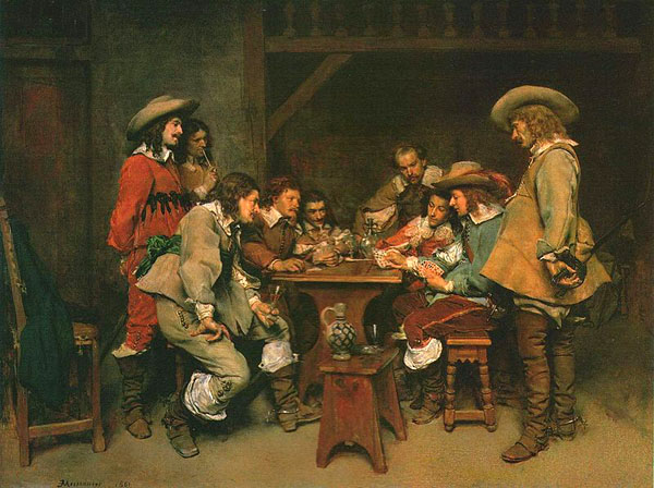 A Game of Piquet: 1861