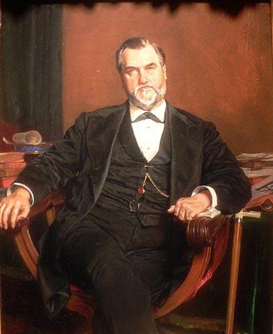 Leland Stanford: 1881