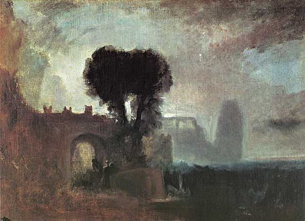 Vilijam Tarner - Page 7 Archway_with_Trees_by_the_Sea_ca_1828