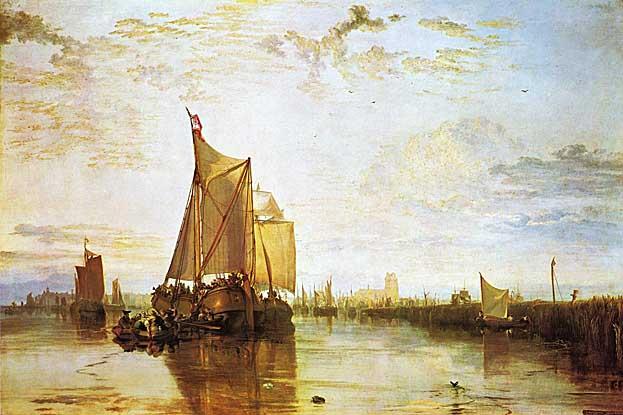 Vilijam Tarner - Page 8 Dort_the_Dort_Packet_Boat_from_Rotterdam_Bacalmed_ca_1818