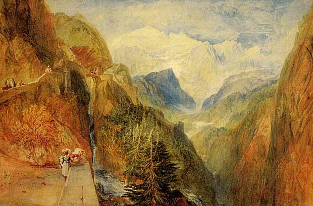 Vilijam Tarner - Page 8 Mont_Blanc_from_Fort_Roch_Val_D_Aosta