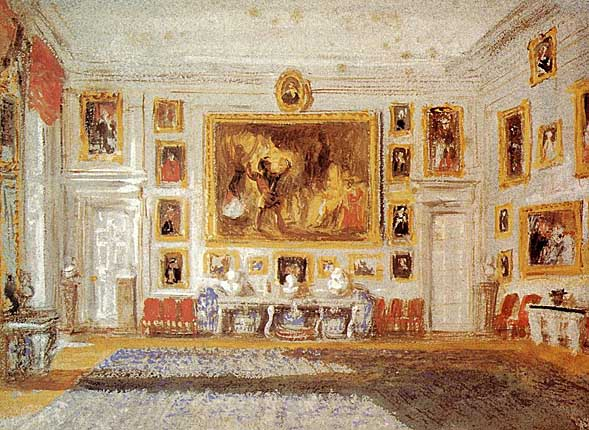 Vilijam Tarner - Page 8 Petworth_the_Drawing_Room_ca_1828