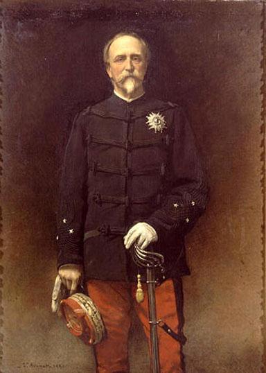 Portrait Du General Henri d'Orleans, Duc d'Aumale: 1880