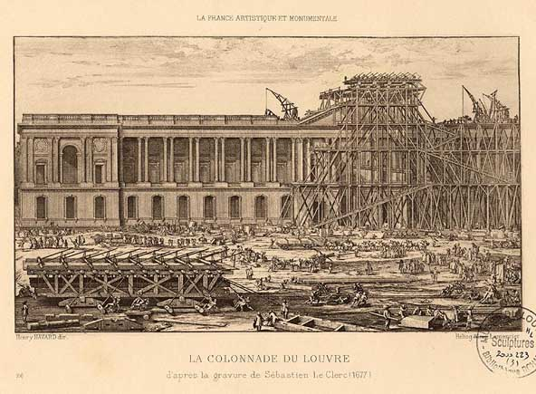 Louis xiv of france - Construction of the louvre ...