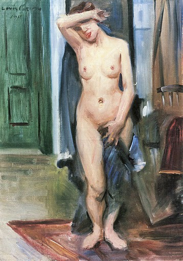 Standing Nude by Lovis Corinth