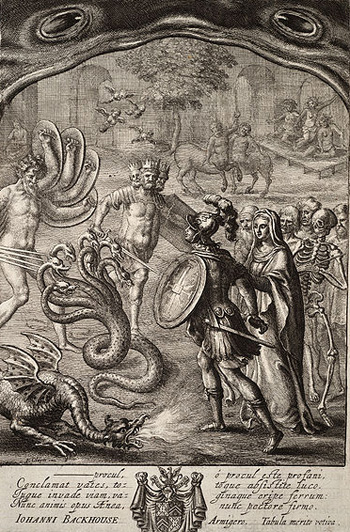 aeneas the underworld But the latter's role as psychopompos (escorter of the dead to the underworld),  musician and messenger were subsequently appended onto mercury after their.