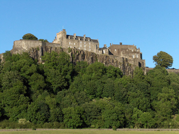 Stirling Castle, home of many Stewart Monarchs