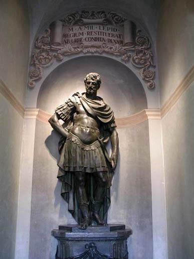 Marcus Aemilius Lepidus - Triumvir