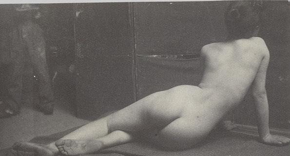 Female Nude: ca 1883