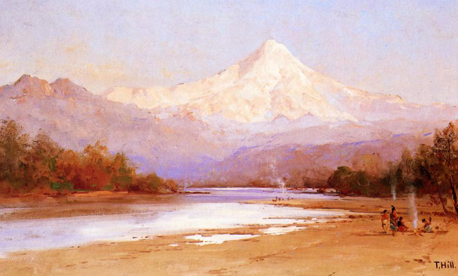 Go back gt gallery for gt mount hood eruption 1866