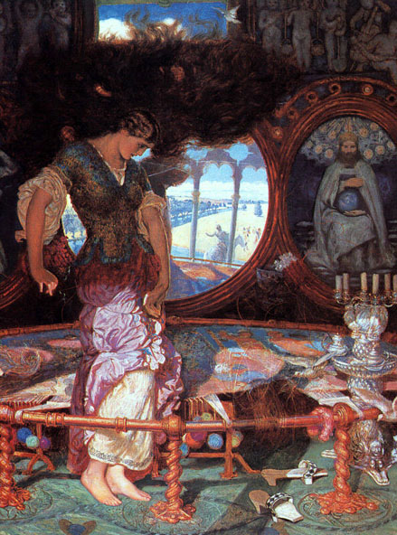 The Lady of Shalott Questions and Answers