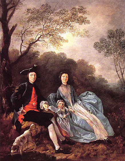 Thomas Gainsborough Was One Of The Most Famous Portrait And Landscape Painters 18th Century Britain